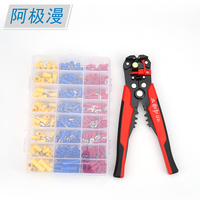 Factory Wholesale OEM Multifunctional Pliers Tool Kit Wire Stripper Insulation Cable Terminal Block Tool Set