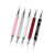 Professional nail design rhinestones picker nail art painting dotting brush double metal head nail art dotting tools