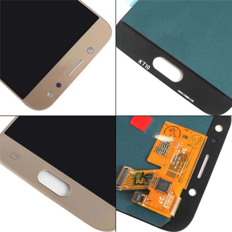 HQ wholesale mobilephone original for samsung j5 2017 j530f lcd screen
