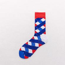 Носки для пар в европейском и американском стиле, носки в стиле Харадзюку, Веселые носки без пятки, модные мужские и женские спортивные хлоп...(Китай)