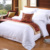 100% cotton Three Stripe 4 pcs Bedding Set/Bed Linen Set for Hotel