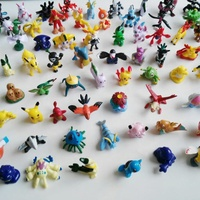 Wholesale Promotion 144 Designs Cartoon Collection Toy Mini Pokemon Figures PVC Plastic Toys For Capsule Toy