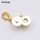Wholesale Strong Magnet Thick Handbag Cover Magnetic Snap Mini Bag Lock Closure Rivet Metal Magnetic Hidden Button Bag Hardwares