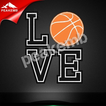 Wholesale Printable Basketball Mom Pu heat transfer vinyl for tshirts