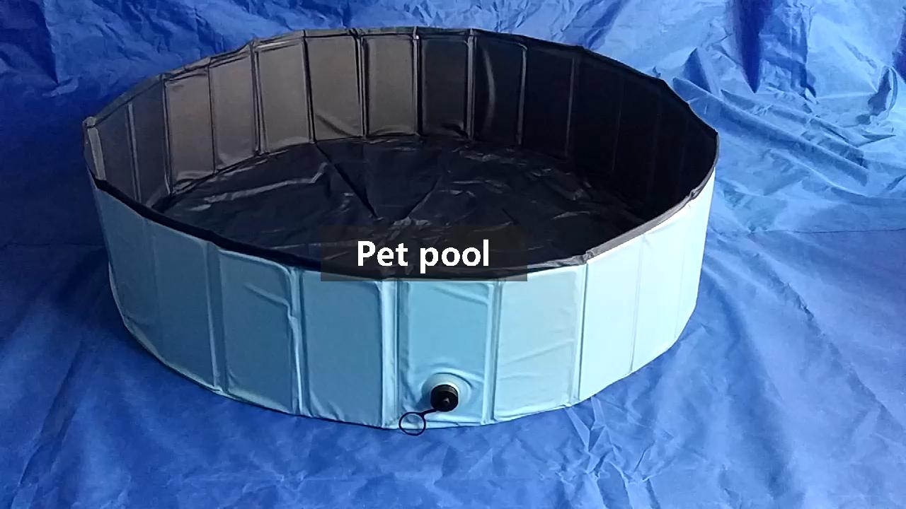 맞춤형 고품질 PVC 개 수영장 판매