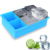 Easy To Operate 6 Cavity Platinum Personalized Ice Cube Tray Silicone