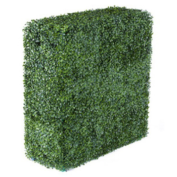 Hot sale Garden Decoration outdoor artificial leaves hedge fence synthetic grass panels for decoration