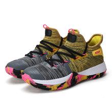 Баскетбольная обувь больших размеров 36-45, 5 цветов, мужская спортивная обувь Kyrie, высокие кроссовки Irving Basket, мужская и женская спортивная обу...(Китай)