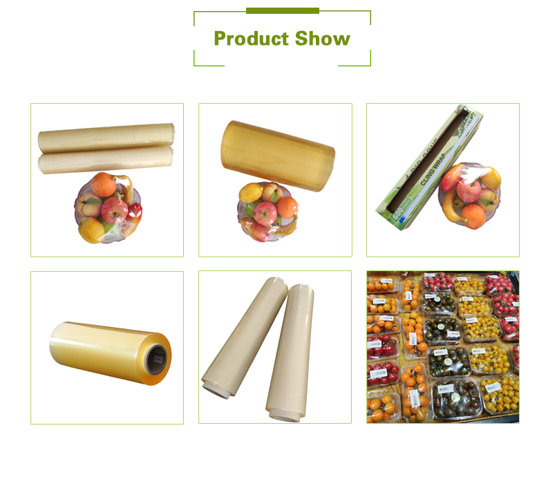 PVC disposable roll wrap household food plastic wrap