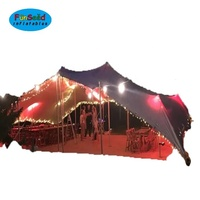 stretch tent waterproof fabric