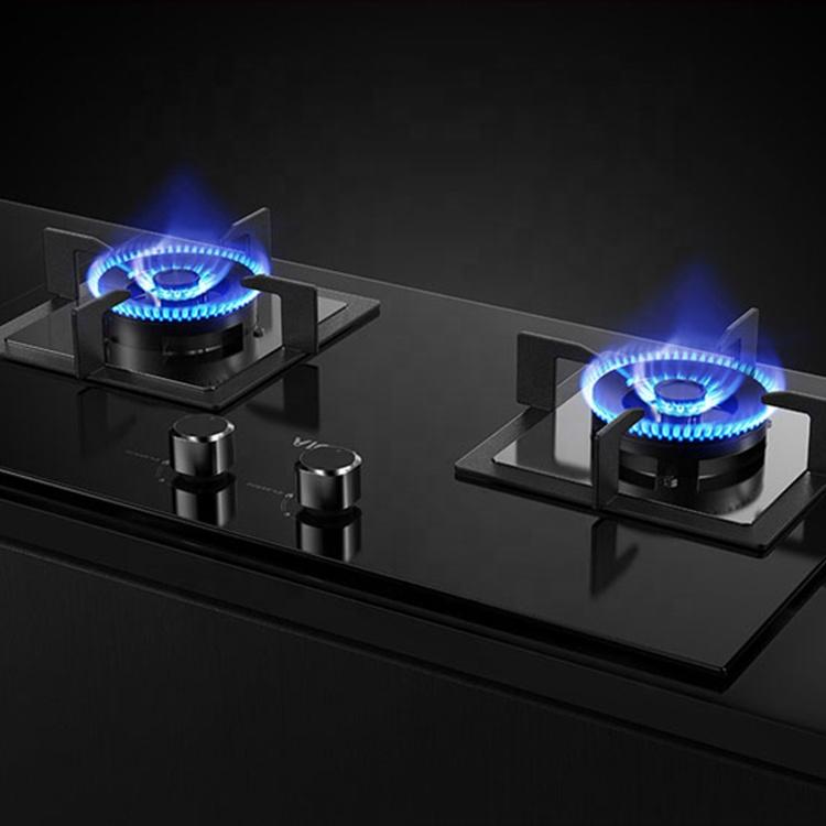 Marca personalizada de vidrio quemador infrarrojo de la estufa de gas