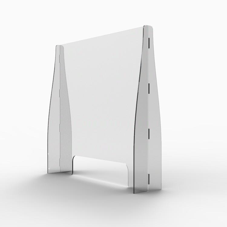 Vendita calda Buffet Acrilico Shield Per Tavolo Manicure Schermi Starnuto Guardia