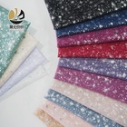 Starry sky foil tulle fabric wholesale mesh polyester for kids custom