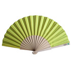 [I AM YOUR FANS]Custom Logo Full Printing Promotional Cheap Paper Wooden Hand Fan
