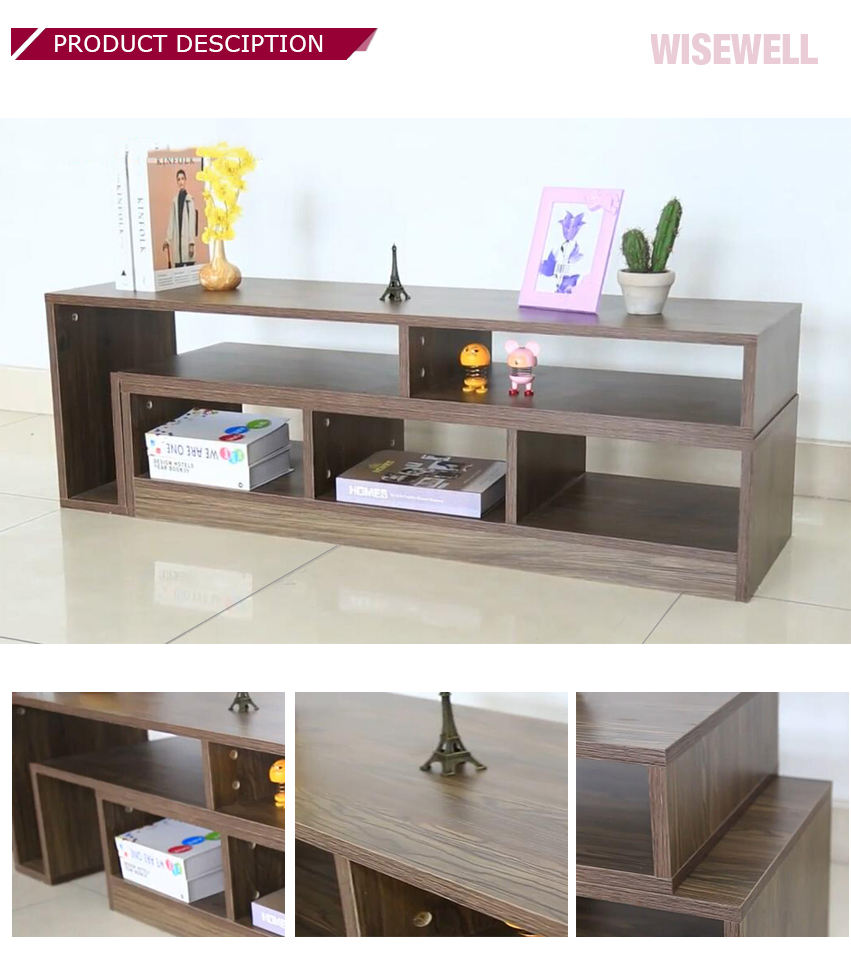 Living room furniture Entertainment Unit Stand Storage Drawer wooden extendable TV cabinet