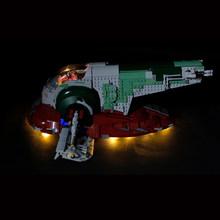 UCS Slave I Slave NO.1 строительные блоки 05037 игрушки звездные войны наборы совместимы с LegoINGlys StarWars детские подарки 75060(China)
