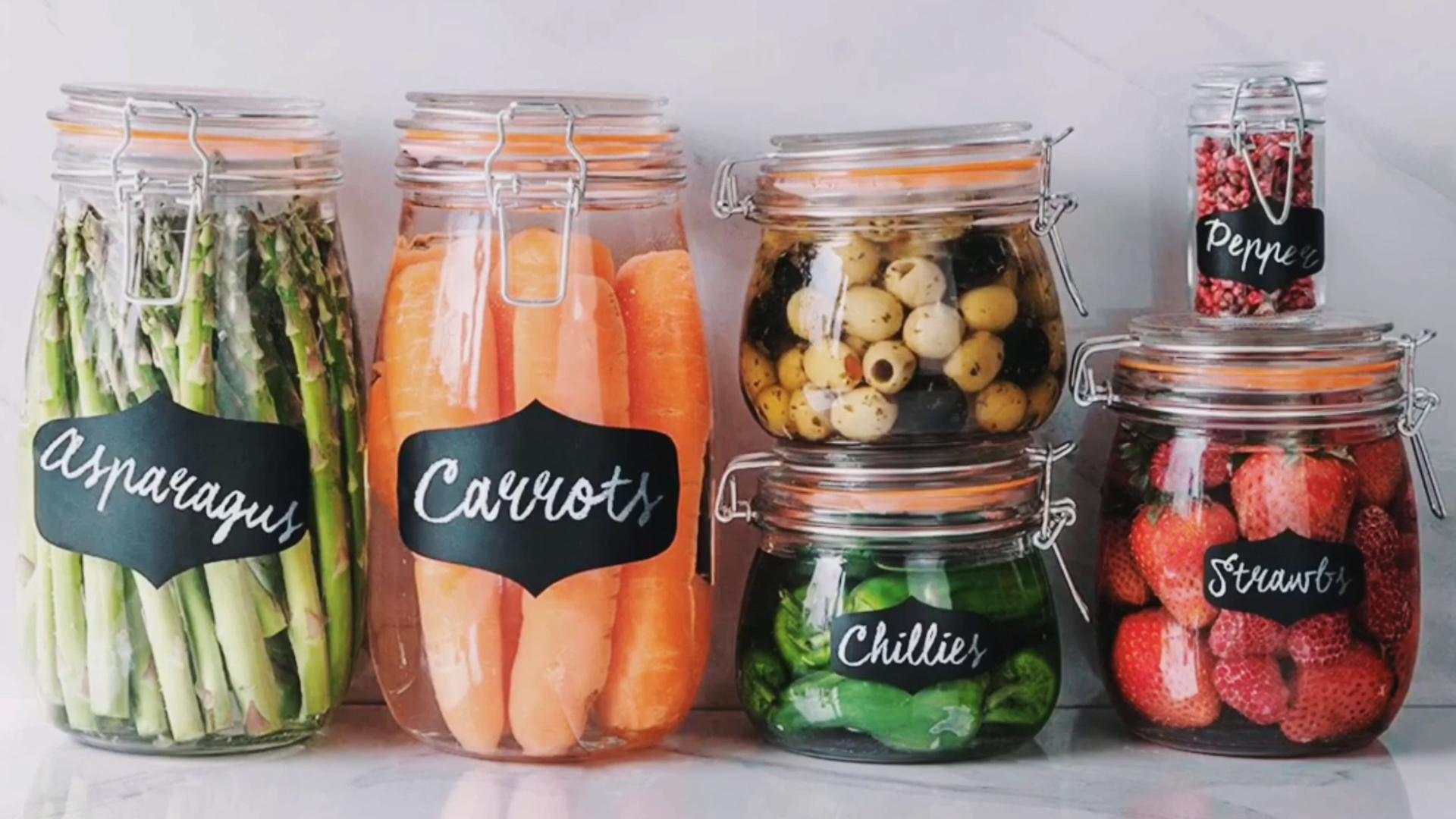Bán Chạy Nhất Nhà Máy Giá Nhà Bếp 16Oz Glass Oil Jar Olive Dispenser Với Pourers