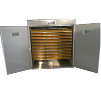 Factory price 2640 egg incubator Automatic Poultry Egg Incubator for chicken