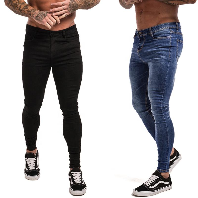 Ropa De Hombre Para Hombre Ripped Skinny Jeans Slim Fit Stretch Jeans Denim Socorro Deshilachado Motociclista Azul Ropa Calzado Y Complementos Aniversarioqroo Cozumel Gob Mx