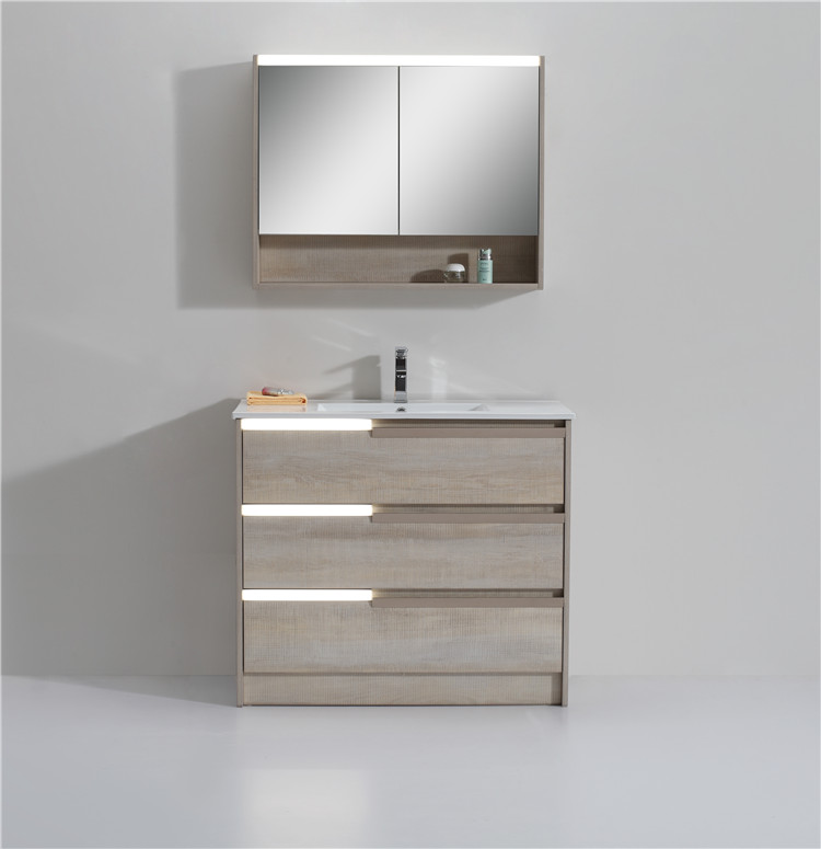 Modern Style New Product Home Center Bathroom Cabinet And Wash Basin