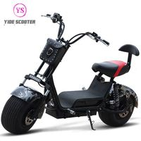 Holland Warehouse 2020 Latest Electric Scooter 800W Citycoco Scooter Two Wheel For Cool Sports