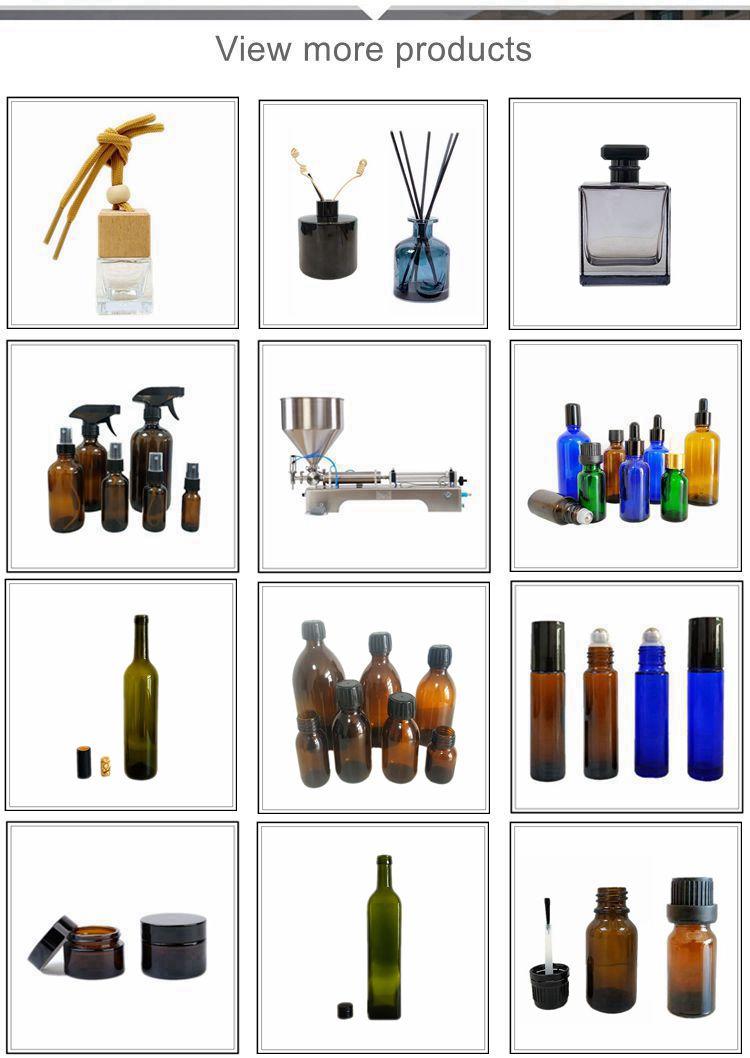 5 مللي 10 مللي 15 مللي 20 مللي 30 مللي 50 مللي 100 مللي أمبير الزرقاء واضحة فروست قطارة زجاجة سوداء زجاجة زيت طبيعي مخصص زجاجة CRC كاب