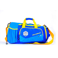 Custom Name Brand Large Capacity Lightweight Sports Travel Bag 600D Polyester Mens Gym Duffel Bags
