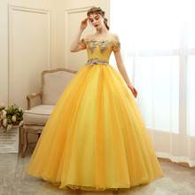Quinceanera платье 2020 Gryffon вечернее бальное платье с открытыми плечами роскошное Quinceanera платья Vestido De quadinera на заказ(China)