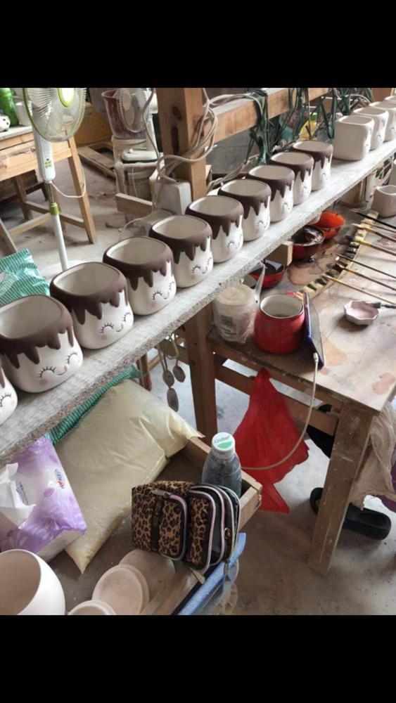 2020 hot sales ceramic marshmallow mug