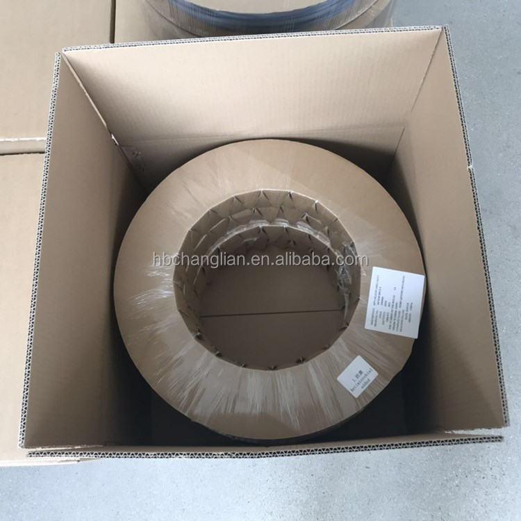 Black extruding EPDM rubber sealing