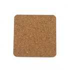 80mm Fitting Side Length * 12mm L Square Agglomerated Cork Lids for Jars and Flasks