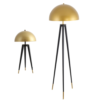 luxury nordic minimalist modern hotel tripod stand spotlight standing light floor lamps for living room