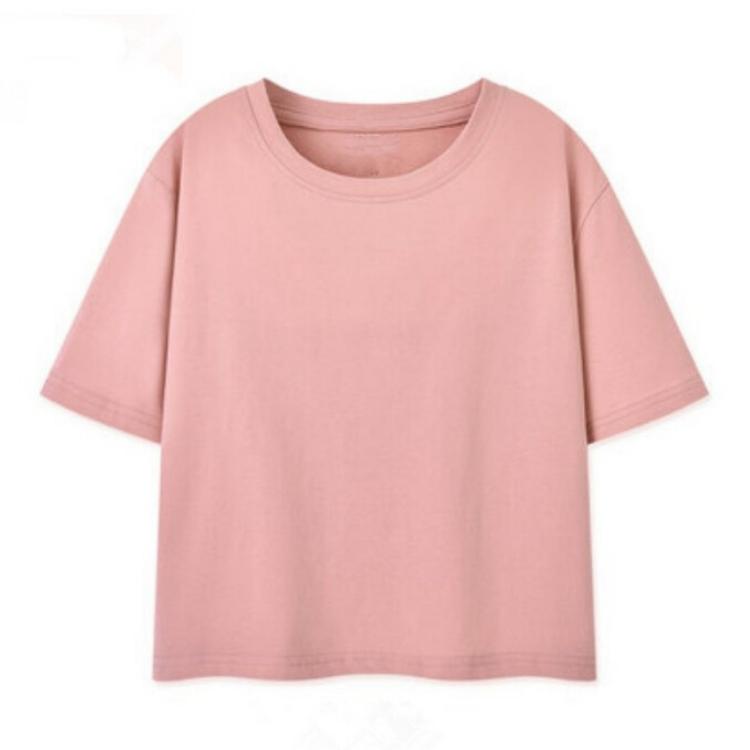 Tops fashion custom crew neck t shirt women printing clothing short cotton t-shirt casual fitted blank ladies tshirt