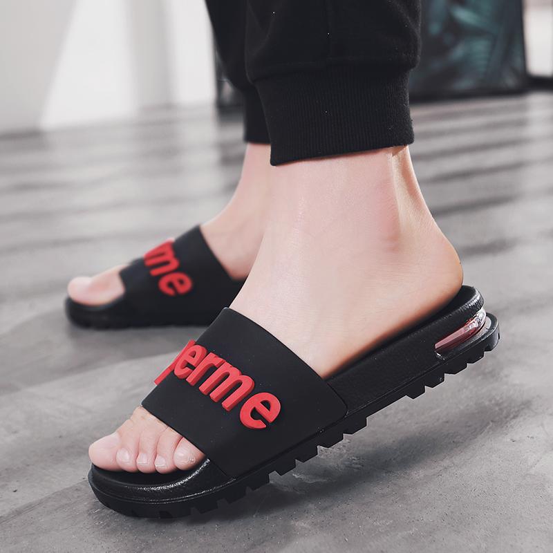 Sandal Rubber Pvc Blowing Outsole Cushion Custom Slide Shoes Man Kids Blown Men Slipper Air