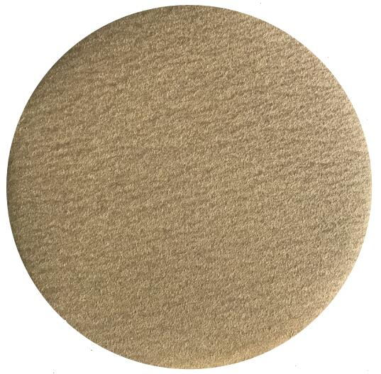 Sarı alüminyum oksit zımpara diski