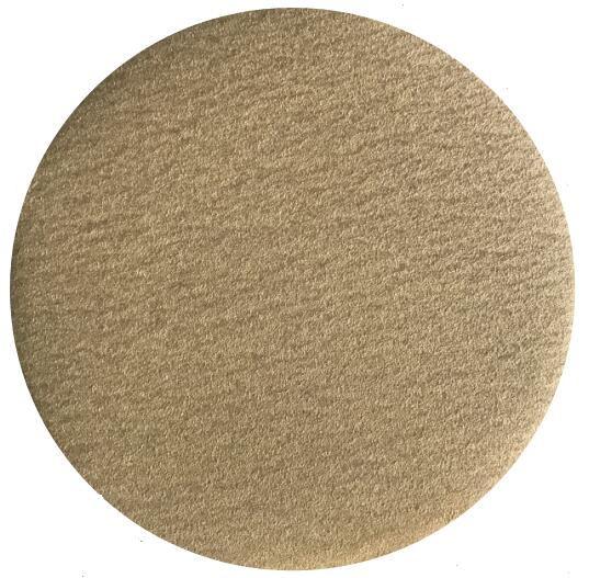 Yellow aluminum oxide sanding disc