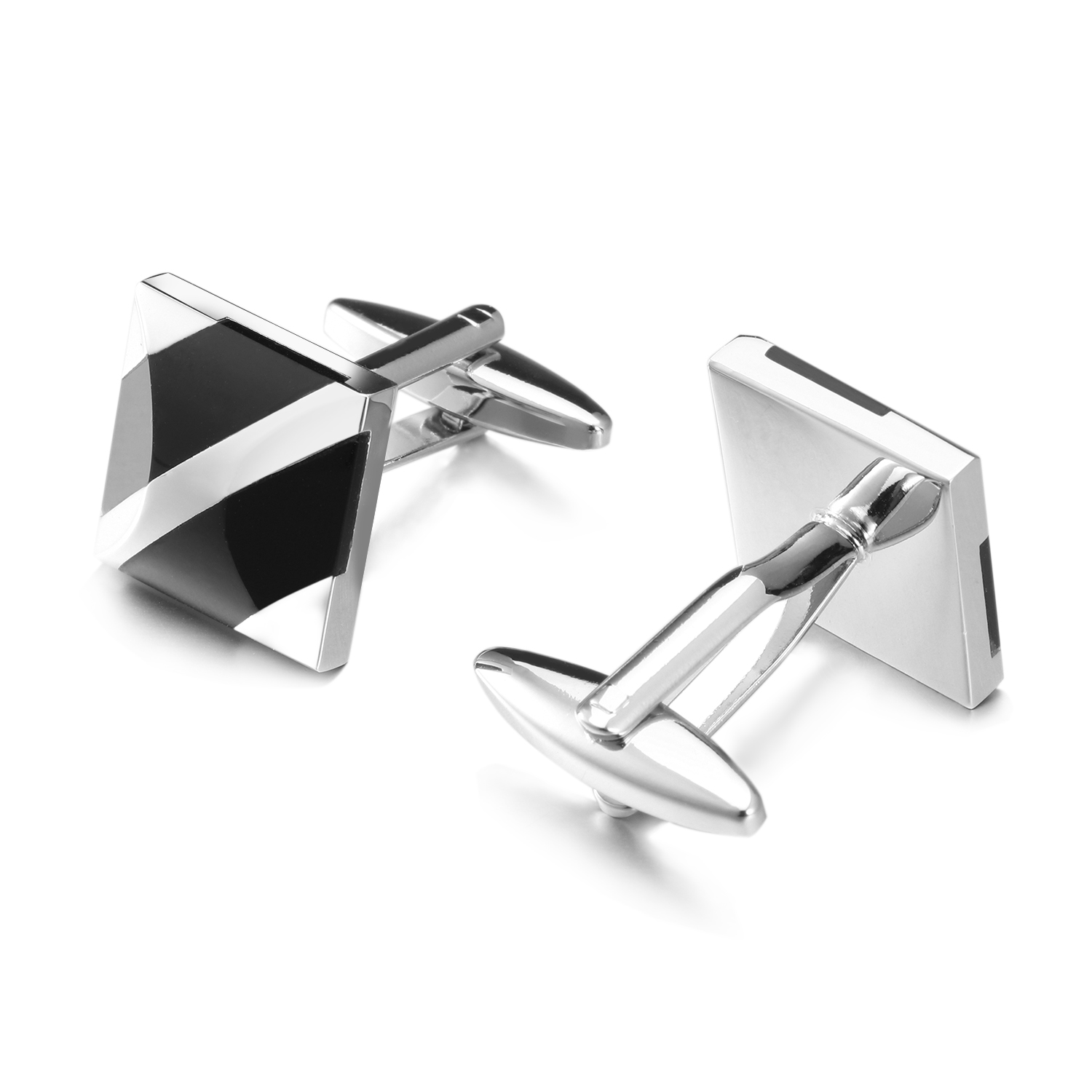 OB Jewelry-Wholesale Price Men Cufflinks Bubble Shaped Men Jewelry Rhodium Plated Metal Cufflinks Shirts Men From China