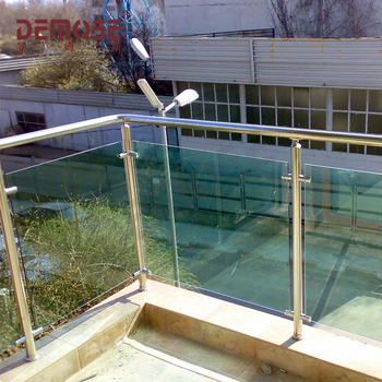 Outdoor Stainless Steel And Glass Roof Deck Railing Design View Roof Deck Railing Demose Product Details From Foshan Demose Hardware Products Co Ltd On Alibaba Com