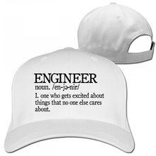 Инженерный подарок идея дамы подарок инженерный папа жена друг бейсбольная кепка Мужчины Женщины Дальнобойщик шляпы(Китай)