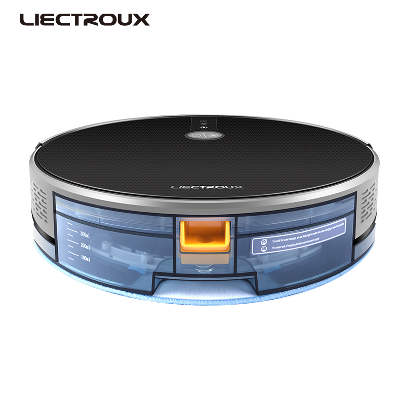 LIECTROUX C30B 2020 New Arrival Wireless Remote Wet And Dry Mopping Intelligent Robot Vacuum Cleaner With Time Scheduling
