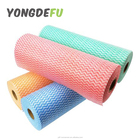 blue red green yellow colour available super absorbent spunlace non woven fabric semi-disposable cleaning polishing cloths