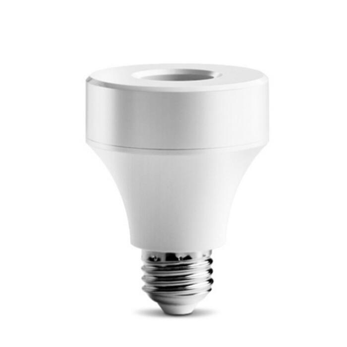 <strong>E27</strong> Wifi Control LED Light Bulb <strong>Socket</strong> Wireless Smart Lamp Holder 110-240V Lamps Bulb Base work with Alexa and google home TUYA