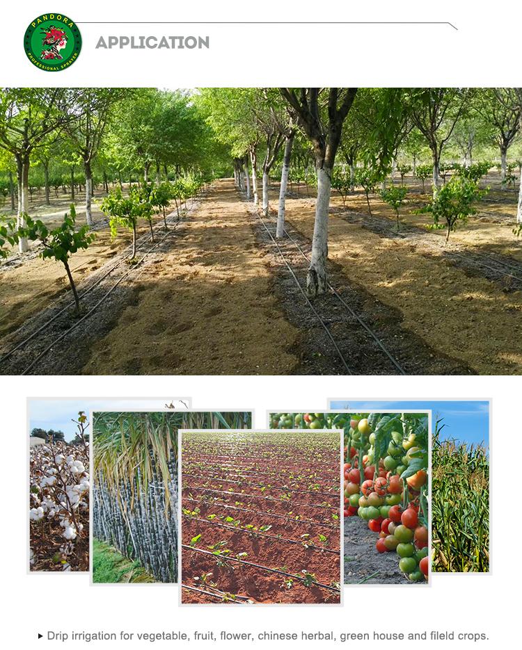Орошения система капельного орошения машина по изготовлению труб фермерская оросительная система