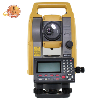 Bluetooth Topcon  GM - 105 total station instruments with best-in-Class Measuring Distance Feature