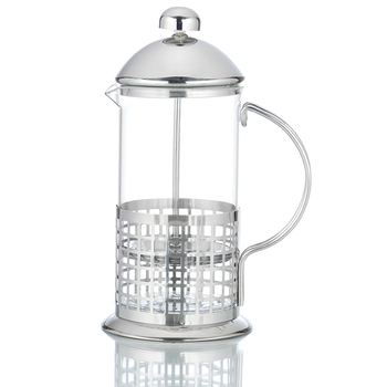 High quality hot brew coffee and tea maker stainless steel coffee plunger french press