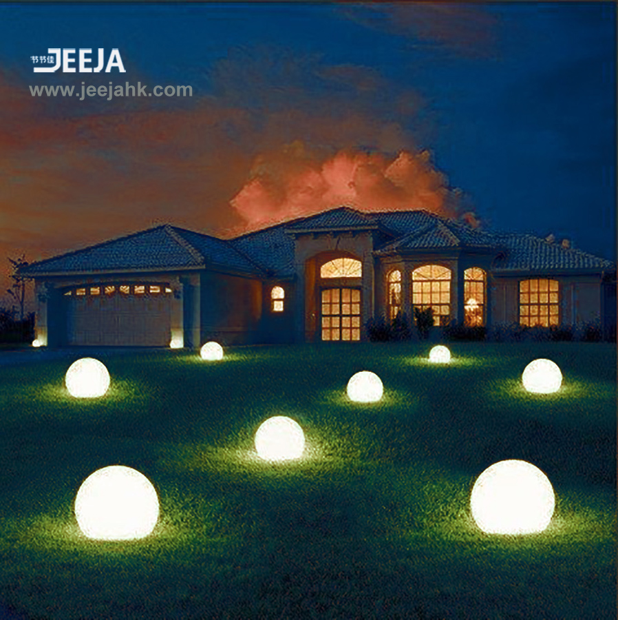 Mood Light Color Changing Led Ball for Gardens Decoration