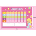A2 Size Customized Good Habit Kid Reward Chart Set for Girls Early Education