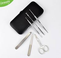 Comedone acne pimple blemish extractor H0Ts7 anti acne facial kit