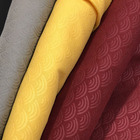 Plain Fabric [ Fabrics ] Pattern Fabric Fashion 100 % Mircofibric Embossed Pattern And 100% Polyester Fabrics