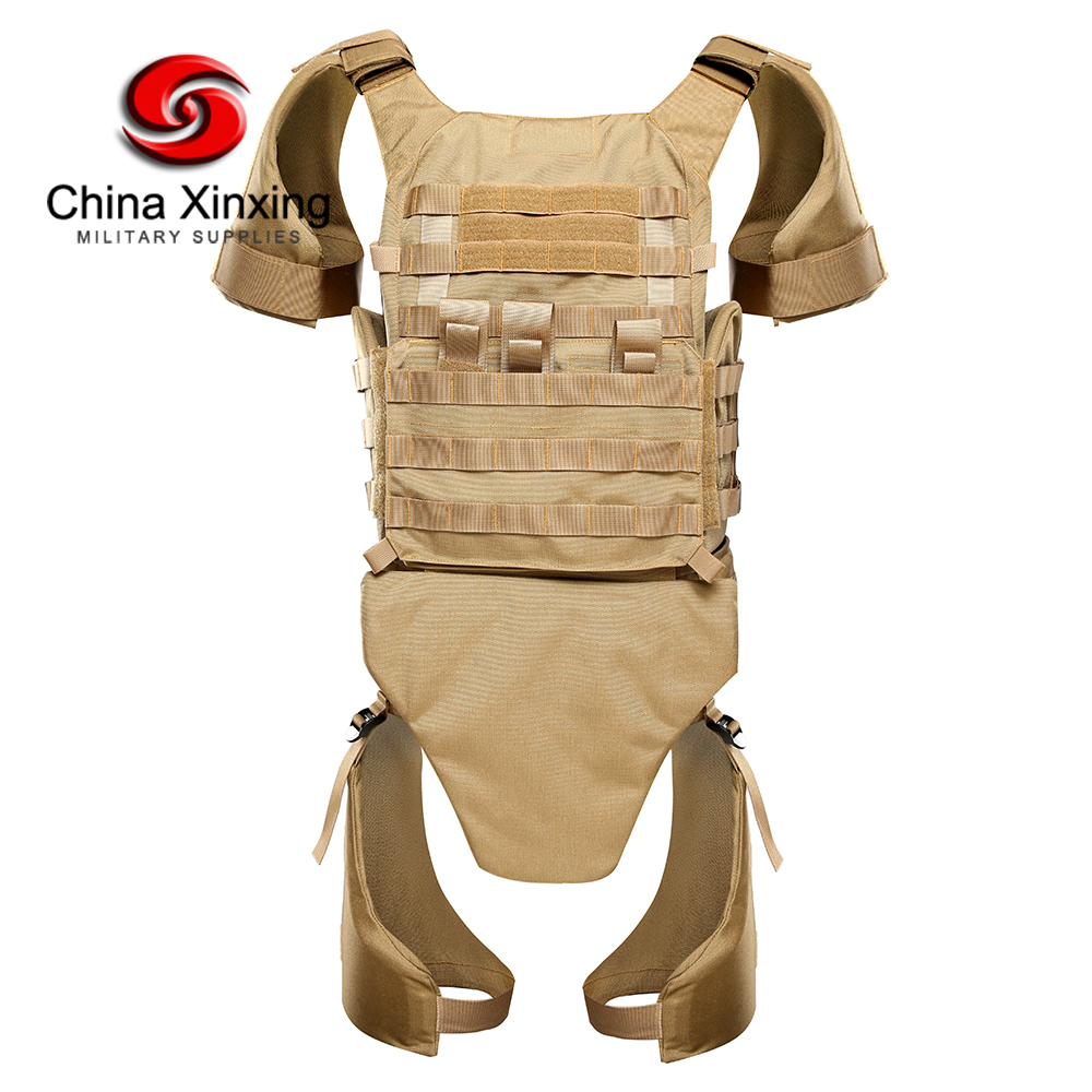 Custom UAE full body armor bulletproof vest concealable lightweight shoulder leg groin protector level 4 bullet proof vest